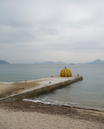 naoshima pumpkin Naoshima