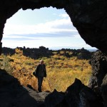 Gero at the Dimmuborgir lava formations
