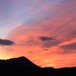 Sunrise over Reykjahild