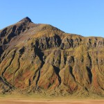 Mountains in Olafsfjordur