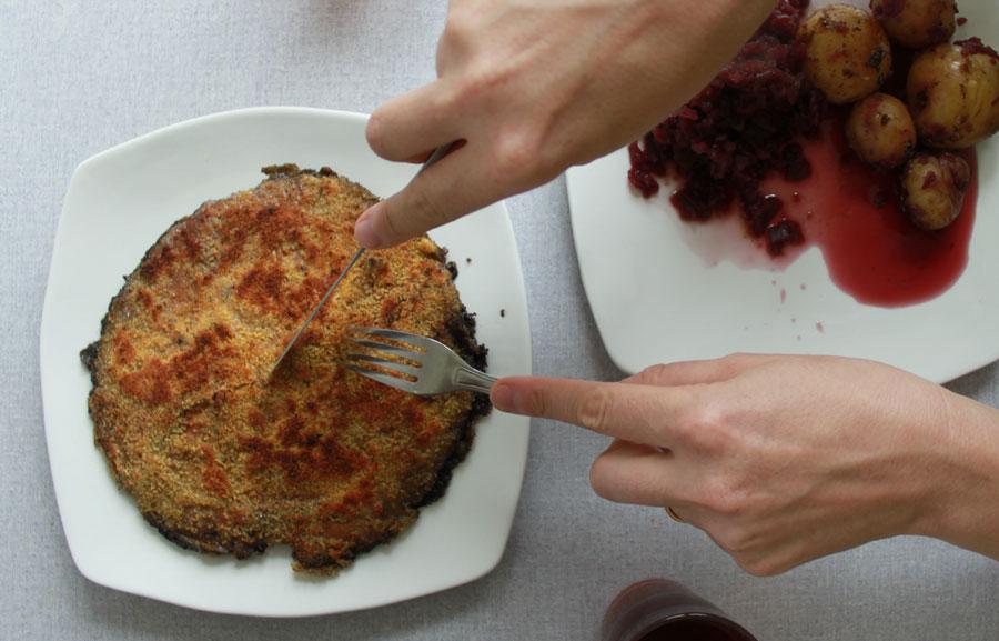 mushroom-schnitzel