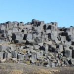 Basalt near the Dettifoss falls