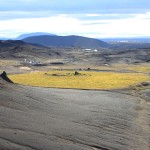 View from Namaskard