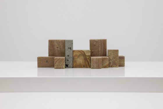 Stone Cubes by Max Lamb