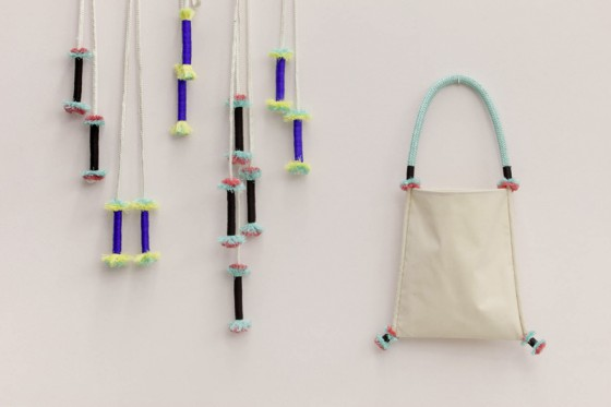 Skipping Ropes and bag by Thorunn Arnadottir