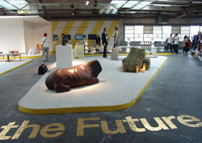 'Designers of the Future Award' display Design Miami/Basel 2008