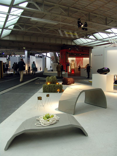 The 'Resilience' series tables on display